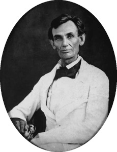 Lincoln in May, 1858