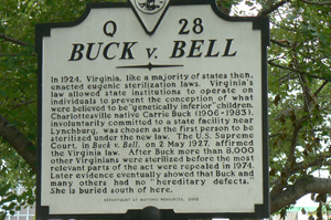 buck v bell Start studying apush final 3 learn vocabulary, terms, and more with flashcards, games, and other study tools search create buck v bell (1927).