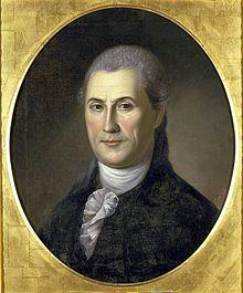 Samuel Huntington, painted by Charles Willson Peale in 1783