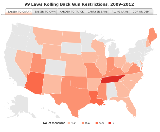 state by state maps gun laws and gun fatalities legal legacy