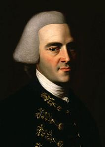 "Portrait of John Hancock, first president of ""The United States of America"" by John Singleton Copley, c. 1770–72"