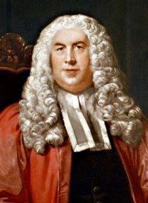 Sir William Blackstone.  In 1756, he published book 1 of his Commentaries on the Law of England, continuing until the publication of Book 4 in 1759.