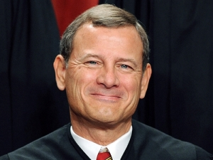 Justice Roberts - Happy White Male Voter