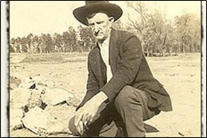 John Huddleston discovered the Arkansas diamonds while he was spreading rock salt on his hog farm.