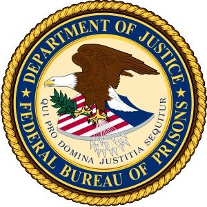Dept of Justice Bureau of Prisons