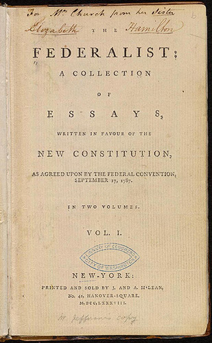 who signed the federalist essays publius The federalist papers - wikipedia the collection's original title was the federalist the title the federalist papers did not emerge at times three or four new.