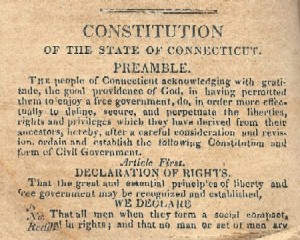 Preamble of the 1818 Constitution