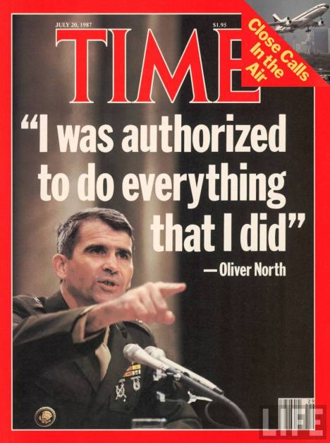 Lt. Colonel Oliver North