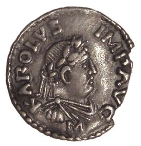 A coin of Charlemagne