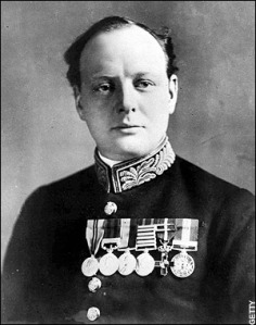 Winston Churchill in 1914