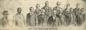 The Judge and jury that convicted Guiteau, from UMKC site