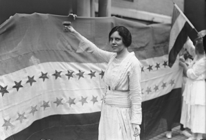 Alice Paul Toasting Tennessee's Ratification of the 19th Amendment, August 1920