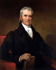 Justice John J. Marshall, who served on the U.S. Supreme Court from 1801–1835