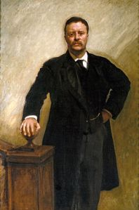 Theodore Roosevelt by John Singer Sargent, 1903