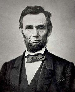 Abraham Lincoln in November, 1863
