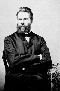 Herman Melville circa 1860