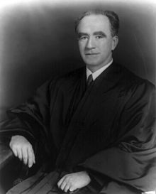 U.S. Supreme Court Associate Justice Frank Murphy, serving from January 18, 1940 until his unexpected death in July 19, 1949