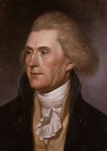 Thomas Jefferson by Charles Willson Peale