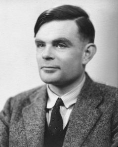 Alan Mathison Turing at the time of his election to a Fellowship of the Royal Society in1951.