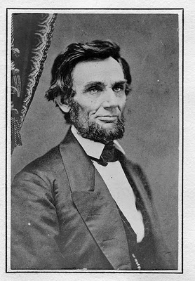 Lincoln had his picture taken on February 9, 1861