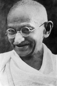 Gandhi, thought to be taken in the late 1930's