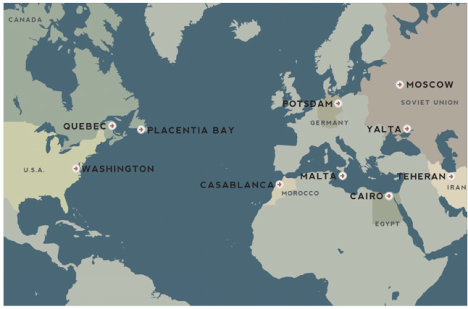 Allied Conference Sites During World War II