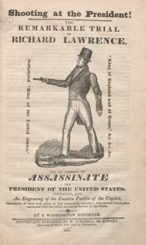 January 30 1835 Assassination Attempt On President