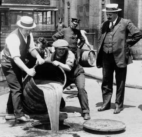 Disposal of Liquor After the Enactment of Prohibition