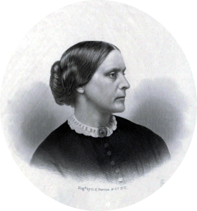 Susan B. Anthony, sometime around the mid 1850's