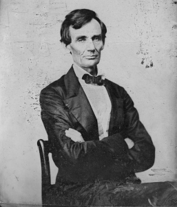 Young Lincoln, minus beard and hat