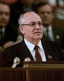 mikhail gorbachev in 1987