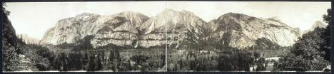 Panorama of Yosemite Valley, 1915