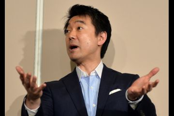 "Hashimoto spoke before press at the Osaka city hall i on May 24, 2013, allowing that ""My choice of words was inappropriate."""