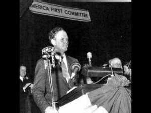 Lindbergh in Des Moines, September 11, 1941