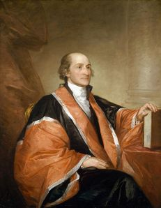 Chief Justice John Jay, portrait by Gilbert Stuart