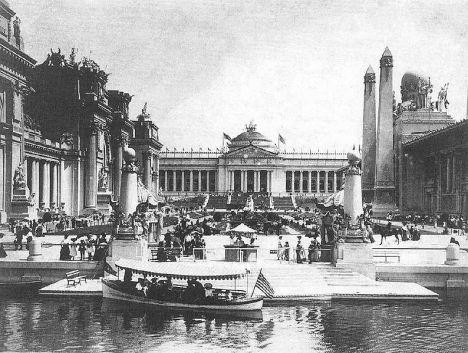 Scene from the 1904 World's Fair