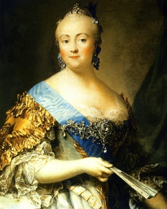Elizabeth of Russia by V. Eriksen