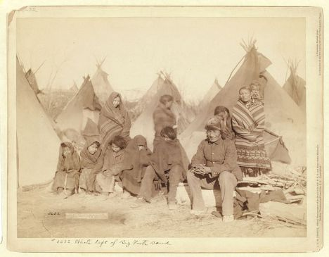 Survivors of Wounded Knee Massacre, 1891