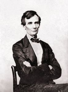 August 13, 1860 The last beardless photo of Lincoln.