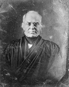 Daguerreotype of Joseph Story, 1844