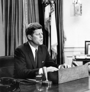 President Kennedy Addressing the Nation, October 22, 1962