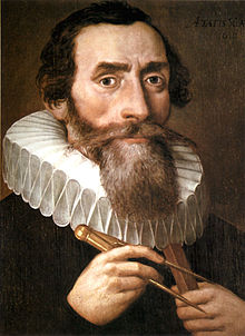 1610 Portrait of Johannes Kepler, artist unknown