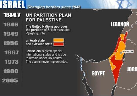 November 29, 1947 – The U.N. Partitions Palestine Between ...