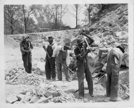 Black convict labor, 1930's