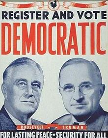 1944 Election Poster