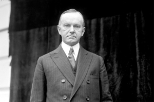 President Calvin Coolidge, May 9, 1924 (Library of Congress)