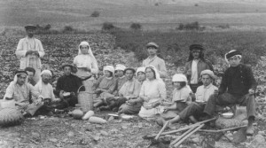 Zionist Pioneers in 1912