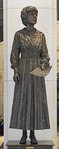 Rankin's monument in the National Statuary Hall, Washington, D.C.