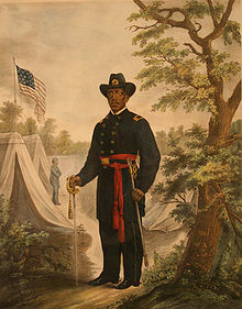 Martin R. Delany was the only black officer who received the rank of major during the Civil War.