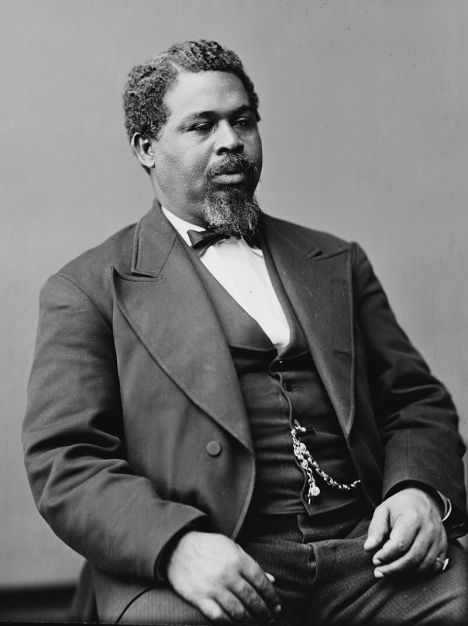 Photo of Robert Smalls by Matthew Brady, created between 1870 and 1880; image from Library of Congress